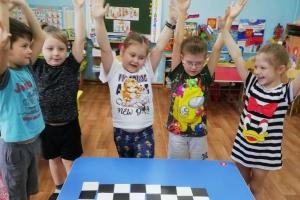 «В стране шахматного королевства», подготовительная группа