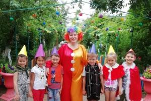 «День веселого клоуна» танцы