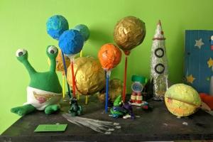 """Выставка """"Космос и дети"""""""
