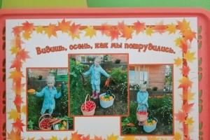Фото-выставка «Видишь, осень, как мы потрудились!»